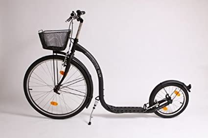 Amazon.com: Ciudad G4 Kickbike Scooter Negro Mate: Sports ...