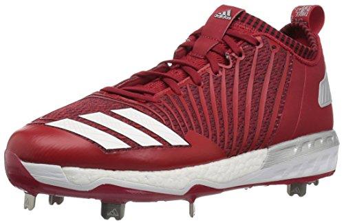 Adidas originali uomini mostro x carbonio metà baseball scarpa potere rosso