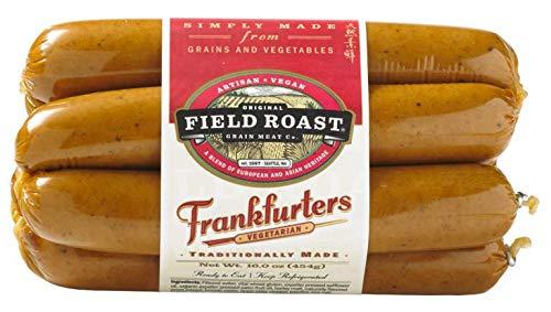 Field Roast Vegetarian Frankfurters 16 Oz (4 Pack) by Field Roast