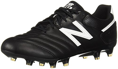 New Balance Men's 442 Team FG V1 Classic Soccer Shoe, Black/White, 8.5 D US -