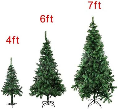Albero Di Natale 7 Metri.Karusale 4 6 7 9 8 Metri Di Altezza Albero Di Natale W Supporto Holiday Season Indoor Outdoor Verde 4ft Amazon It Casa E Cucina