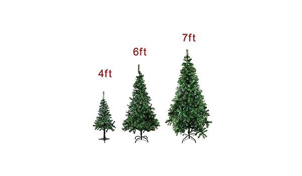 Amazon com: KaruSale 4/6/7/9 8 Feet Tall Christmas Tree W