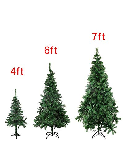 888e114adf4 Image Unavailable. Image not available for. Color  KaruSale 4 6 7 9.8 Feet  Tall Christmas Tree W Stand Holiday