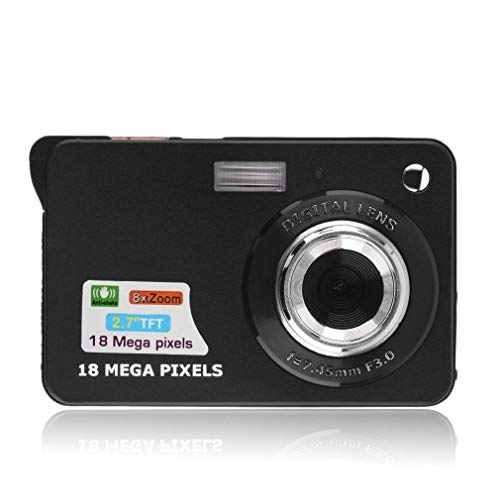 Digital Camera, Prodico 2.7″ Mini Video Camera HD Digital Point Shoot Camera for Kids (Black)