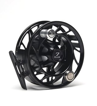 New Hatch 4 Plus Finatic Fly Fishing Reel Black/silver by Winston
