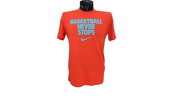 Basketball Never Stops Red