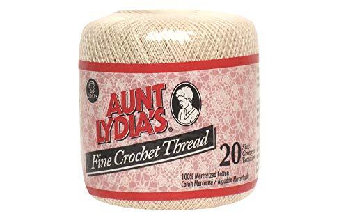 Coats Crochet Fine Crochet Thread, 20, ()