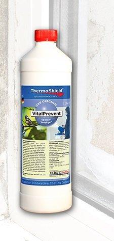 Antimoho - Thermoshield Vital Prevent - sanificante para superficies ammalate moho Activo que viene SPRUZZATO Sui
