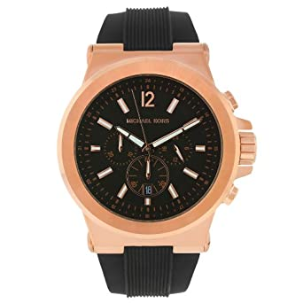 2f9502470382 MICHAEL KORS[マイケルコース] MODEL NO.mk8184 Rose gold Black Rubber Band Watch
