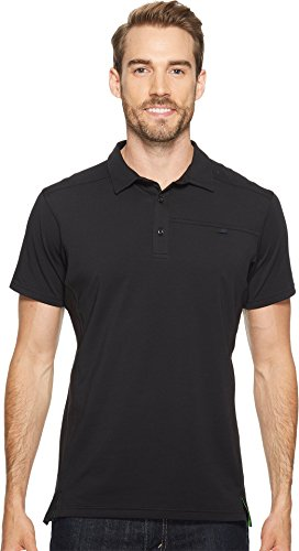ARC'TERYX Captive SS Polo Men's (Black, Large)