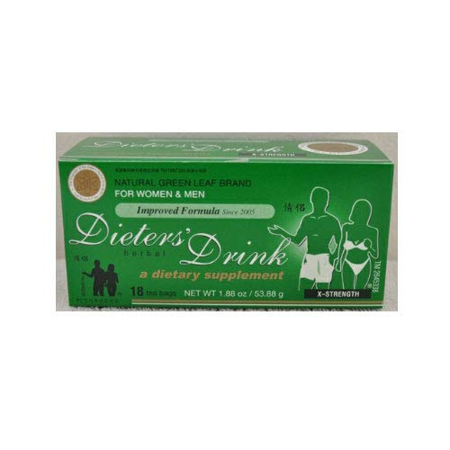 3 DIETERS HERBAL DRINK TEA X-STRENGTH FOR WOMEN & MEN