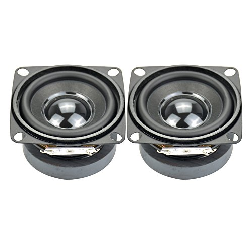 Aiyima 2pcs Subwoofer 2 inch 4ohm 5w Full Range Speaker mini DIY Audio Subwoofer Loudspeaker (Best 18650 For Sub Ohm)