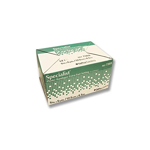 Specialist Plaster Bandages Fast Setting 4 x5yds Bx/12