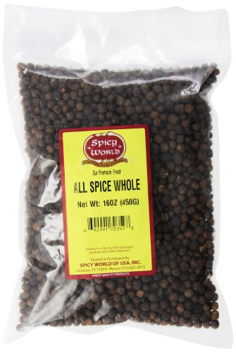 Spicy World Whole Allspice, 16 oz by Spicy World