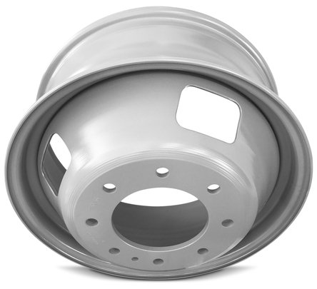 Ford F350SD DRW Dually (05-16) 17 Inch 8 Lug Replacement Wheels Rims 17x6.5 Inch 8 Lug 142mm Center Bore 143mm Offset - Set of 6 by Road Ready Wheels (Image #4)