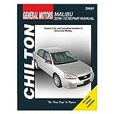 Automotive Repair Manual for Chevrolet Malibu