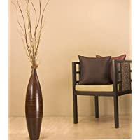 GreenFloralCrafts 30 inch Elipse Tall Floor Vase (Floral Not Included) -  Cocoa Brown-SUPER SALE!