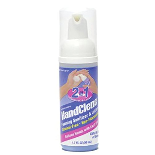 - HandClens Non-Alcohol Hand Sanitizer, 1.7 Ounce