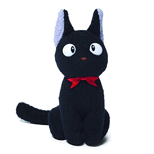 GUND Kikis Delivery Service Jiji Cat Stuffed Animal Plush, -