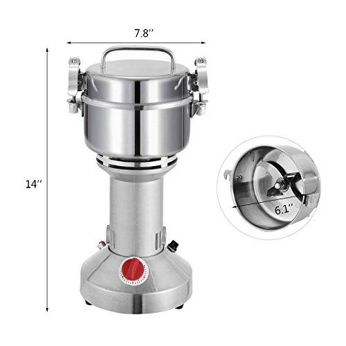 Portable Feed Mill : Forkwin grain grinder g pulverizer machine w