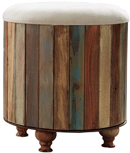 Signature Design by Ashley A3000014 Oristano Storage Ottoman, Multi-Colored
