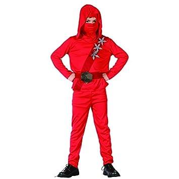 Disfraz de ninja rojo niño - 4 - 6 años: Amazon.es: Juguetes ...
