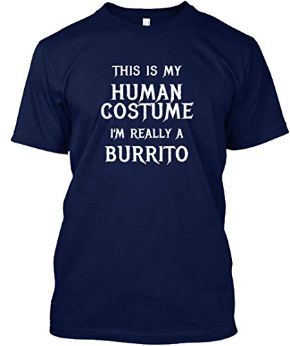 teespring This is My Human Costume im Really a. 5XL - Navy Tshirt - Hanes Tagless Tee T Shirt for Men & Women