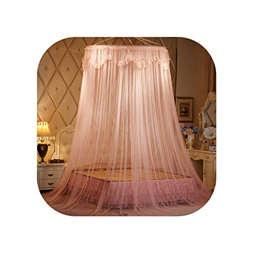 Portable Dome Mosquito Net Hanging Princess Bed Curtain Mesh Double Bed Mosquito Net Lace Bed Tent,Jade Color,1.2m (4 feet) Bed