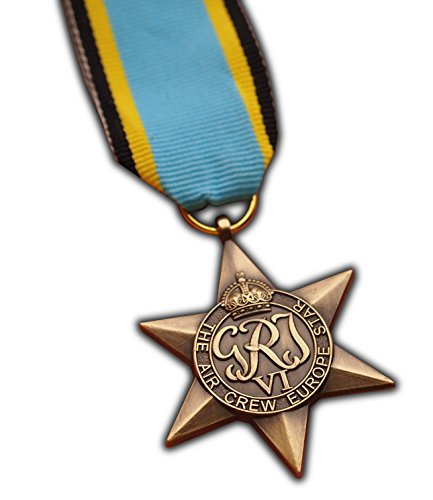 The Air Crew Europe Star Military Medal WW2 Commonwealth British Military Award For | Army | Navy | RAF | REPLICA George (Navy Award)