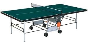 Indoor TT-Tisch Tischtennisplatte # Farbe: grün # sponeta S 3-46 i...