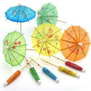 Partysanthe Cocktail Umbrella Small 20pcs Mix Colour Price & Reviews