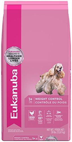 - EUKANUBA Adult Weight Control Dog Food 30 Pounds