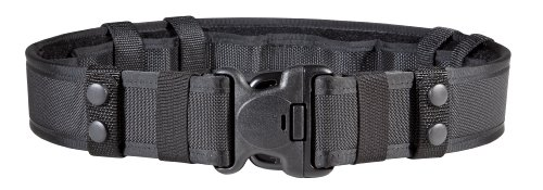 (Bianchi 7235 Black Nylon Belt System (32-34-Inch))