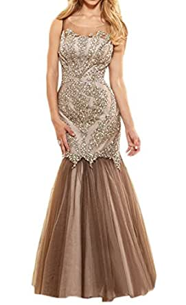 MILANO BRIDE Elegant Mermaid Illusion Neck Crystals