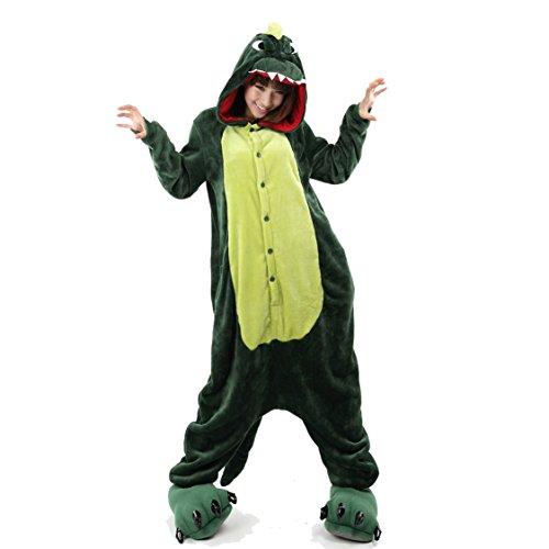 a2cc07e4d Yimidear® Unisex Cálido Pijamas para Adultos Cosplay Animales de Vestuario  Ropa de dormir Halloween y Navidad dinosaurio Liquidación