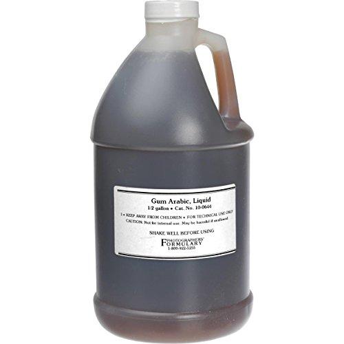 (Photographers' Formulary 0.5gal Gum Arabic (Liquid))