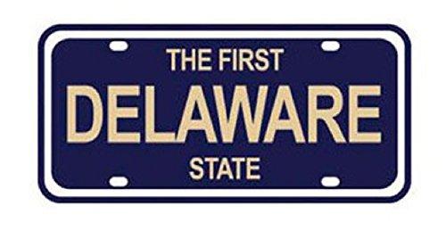 KAREN FOSTER 01542 Design State License Plate Scrapbooking Embellishment, Delaware ()