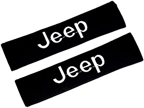For Jeep Cars Pair//Set Seat Belt Shoulder Pads Strap Harness Covers Cushions