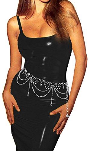 Luna Sosano Women's Hang Chain Belt - Type 57 - Polished (Women Chain Belt)