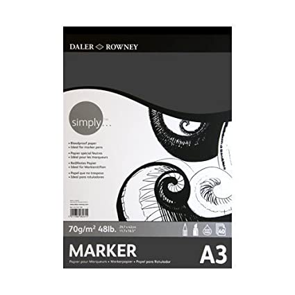 A4 Daler Rowney Simply Marker Pad