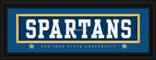 Decade Awards San Jose State University Spartans Stitched Uniform Framed Print