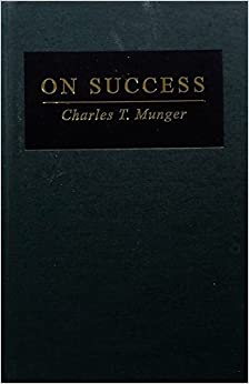 image for On Success by Charles T. Munger