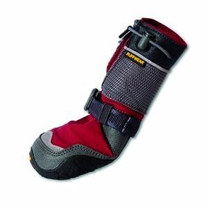 Ruffwear RUFFWEARBarkn Boots Polar Trex Winter-Hundeschuhe, rot, M