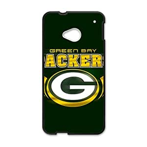 Happy NFL Green Bay Packers Logo Cell Phone Case for HTC One M7