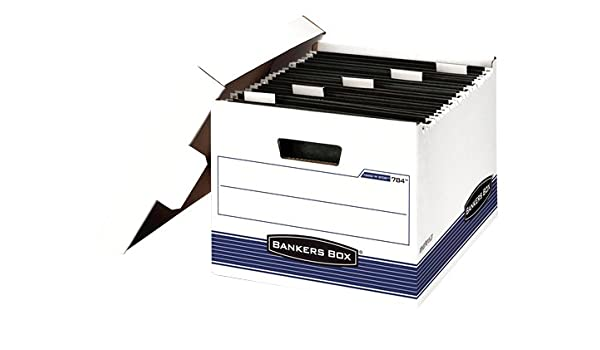Amazon.com : FEL00784 - Bankers Box HangNStor - Letter - TAA Compliant : Record Storage Boxes : Office Products