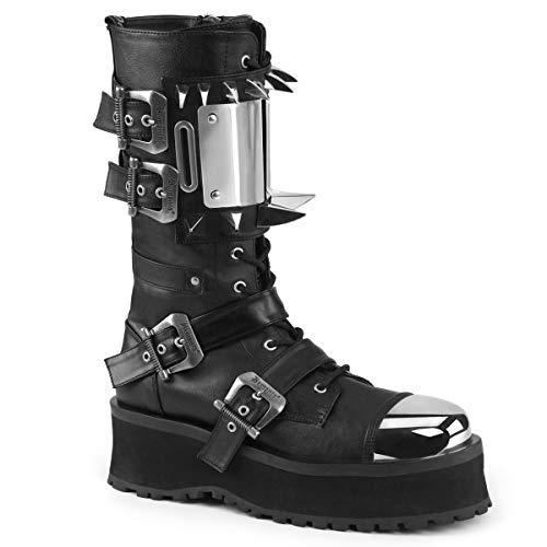 Demonia Men's Gravedigger-250 Calf-High Boot -