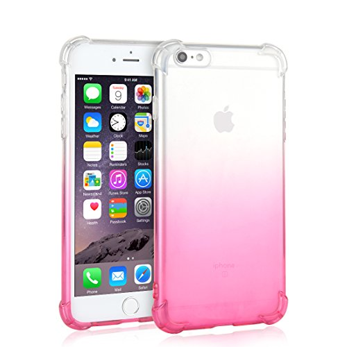 iPhone 6 Plus Case, Kyvault Case for Apple iPhone 6 Plus and iPhone 6s Plus 5.5-Inch, Shock-Absorption Bumper Cover, Anti-Scratch Clear Back, HD Clear
