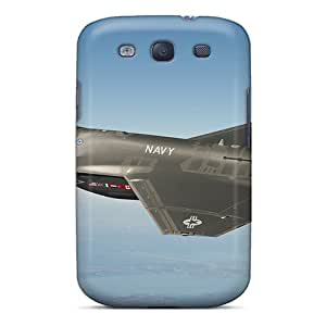 Flexible Tpu Back Case Cover For Galaxy S3 - Fighter F-35