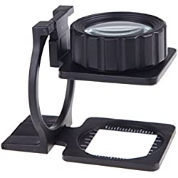 20X Foldable eye Magnifier Stand Measure Scale mini Loupe Magnifying Glass Portable lente de aumento gafas lupa mikroskop lupa