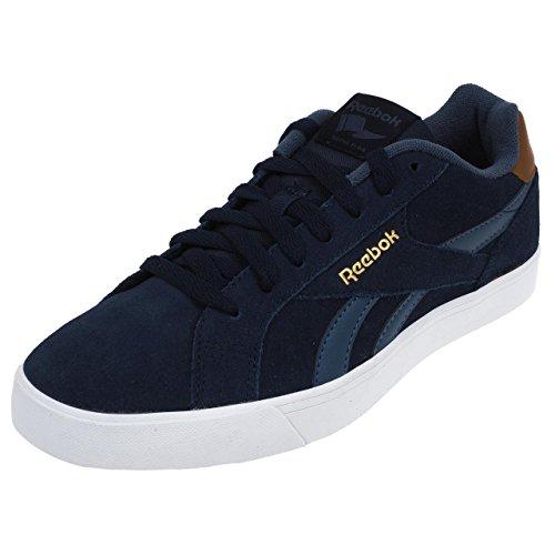 Reebok Royal Complete 2ls, Zapatillas de Deporte para Hombre Azul (Coll Navy / Royal Slate / Brown Malt / White /  / )